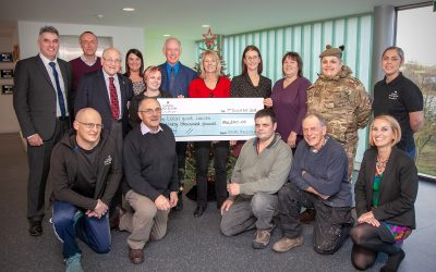 Christmas comes early for four local charities