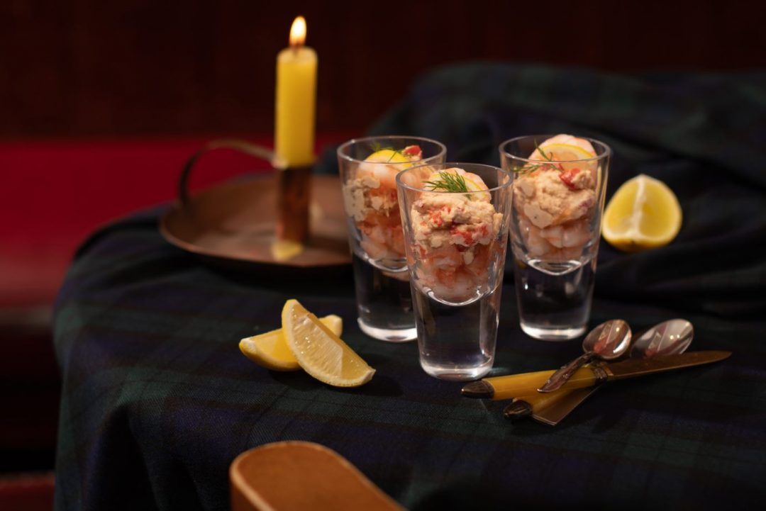 Salmon, Prawn & Smoked Salmon Cocktails