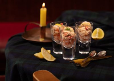 Salmon, Prawn & Smoked Salmon Cocktails