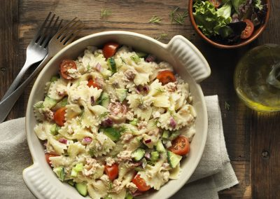 Light Tuna Pasta Salad