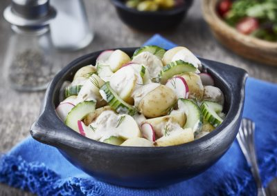 Tuna, Cucumber and Potato Salad