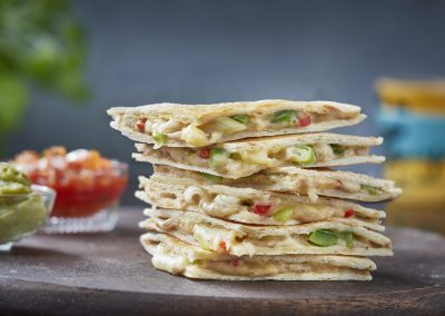 Tuna and Chilli Cheese Quesadillas