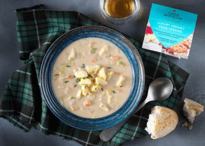 Luxury Orkney Crab & Smoked Haddock Chowder